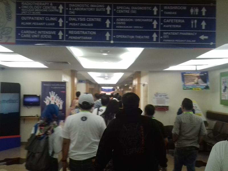 Rumah Sakit Kumpulan Perobatan Johor (KJP), Malaysia. Medcom.id/Anwar Sadat Guna