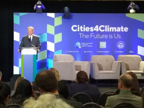 Global Climate Action Summit (GCAS) 2018 digelar di San Francisco pada hari ini atau 12 September waktu setempat.  (Photo:Metro TV/Irena)