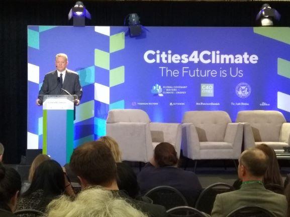 Global Climate Action Summit (GCAS) 2018 digelar di San Francisco pada hari ini atau 12 September waktu setempat.  (Photo:Metro TV/Irena)