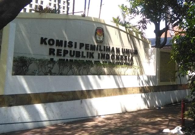 Gedung KPU RI. Foto: Medcom.id/Fachri.