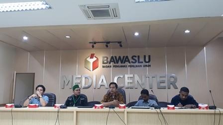 Diskusi bertajuk peran pemuda dalam pemilu partisipatif. Medcom.id/ faisal a