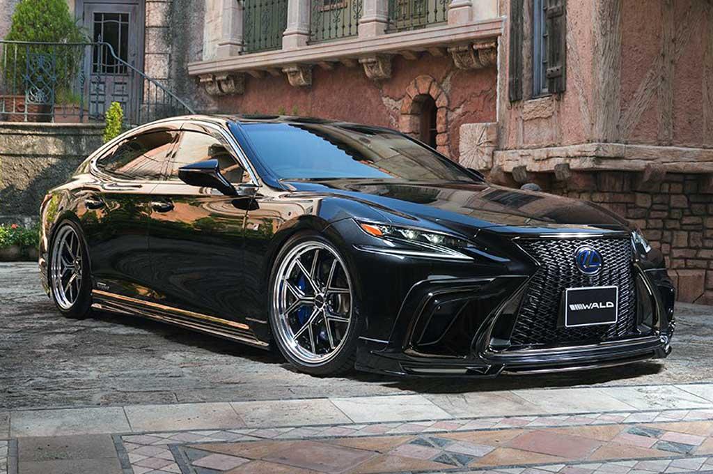 Wald Internatianal pamer modifikasi Lexus LS generasi terbaru. Carscoops