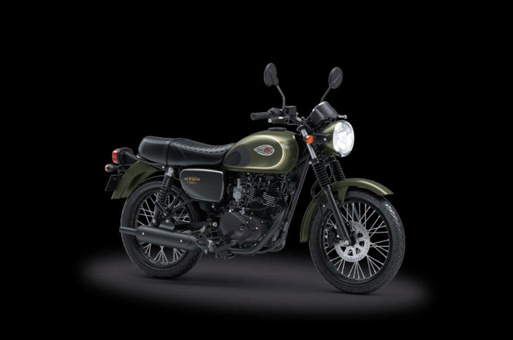Sepeda motor custom terbaru Jokowi bakal menggunakan basis W175. Kawasaki