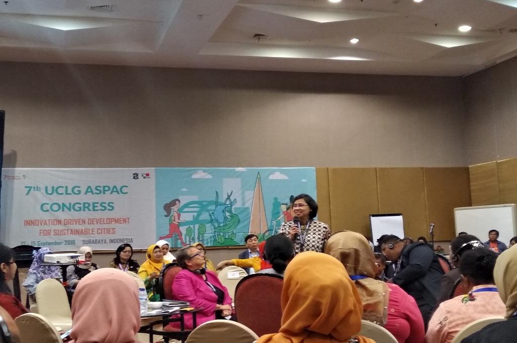 Kongres UCLG ASPAC bertajuk menciptakan dunia yang layak anak di Surabaya, Medcom.id - Hadi