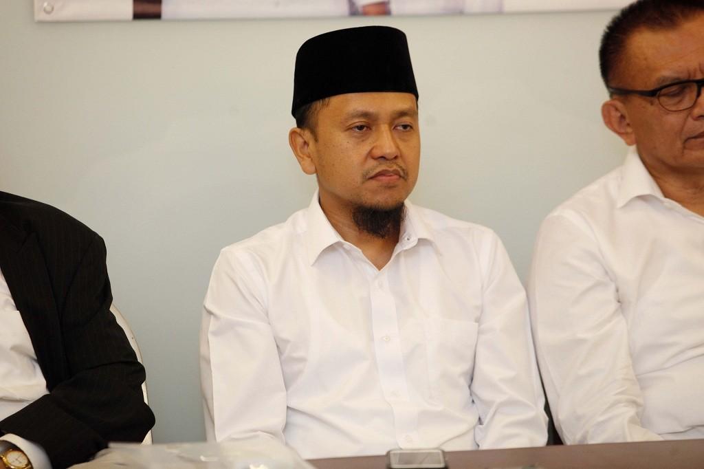 Wakil Sekretaris TKN Verry Surya Hendrawan - MI/Rommy Pujianto.