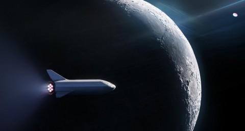 SpaceX Dapatkan Penumpang untuk Peluncuran ke Bulan