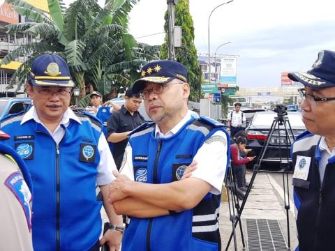 Kepala Badan Pengelola Transportasi Jabodetabek (BPTJ) Bambang Prihartono - Medcom.id/Dhaifurrakhman Abas.
