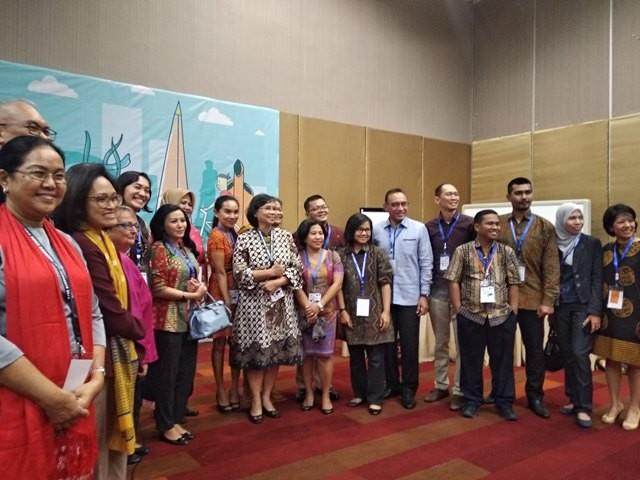 Seminar gerakan kabupaten/kota layak anak bersama Wahana Visi Indonesia (WVI) dan UNICEF di Surabaya, Jawa Timur, Jumat, 14 September 2018. Medcom.id/ Syaikhul Hadi.