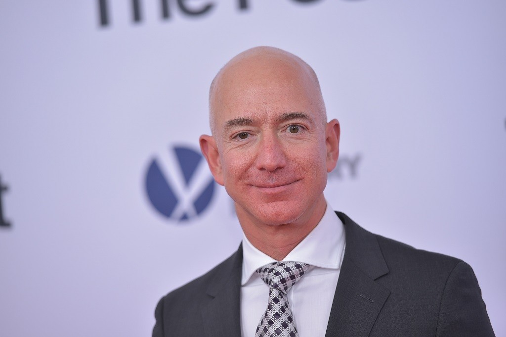 CEO Amazon Jeff Bezos. (Photo by Mandel NGAN / AFP)