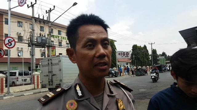 Kanit Laka Lantas Polres Cirebon, Iptu Endang Kusnandar. Medcom.id/ Ahmad Rofahan.