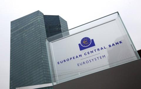 Bank Sentral Eropa Tahan Suku Bunga