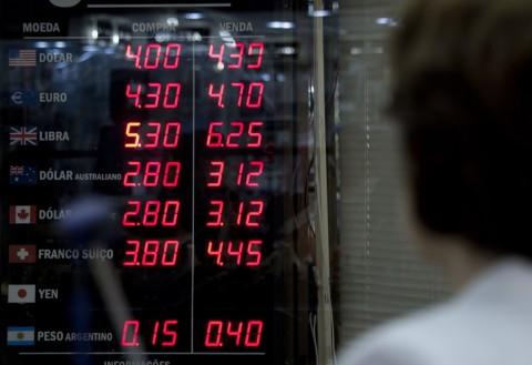 Mata Uang Brasil Sentuh Titik Terendah