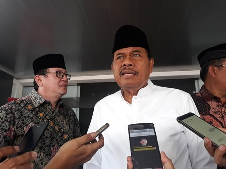 Jaksa Agung HM Prasetyo. Medcom.id/Sunnaholomi Halakrispen