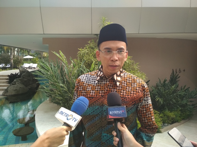 Gubernur NTB Tuan Guru Bajang. Medcom.id/Denny Irwanto