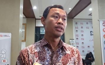 Komisioner KPU Pramono Ubaid Tanthowi--Medcom.id/Faisal Abdalla.