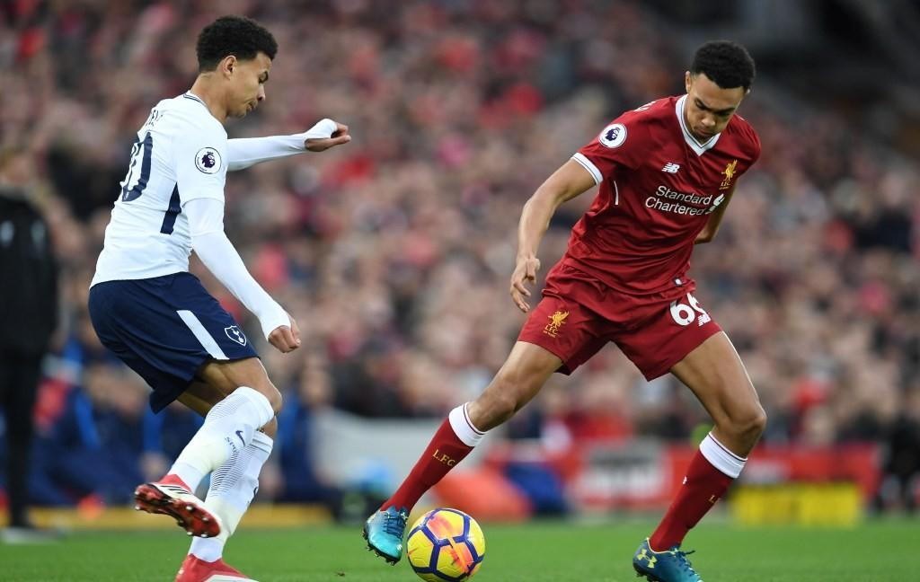 Situasi pertandingan antara Tottenham vs Liverpool musim lalu (Foto: AFP/Paul Ellis)