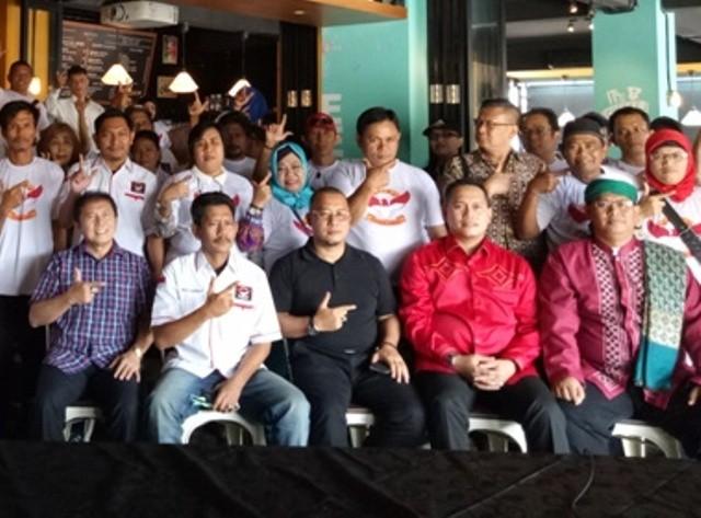 Relawan Nasional Brigade Jokowi (BJW) menggelar deklarasi dan workshop--Medcom.id/Siti Yona Hukmana