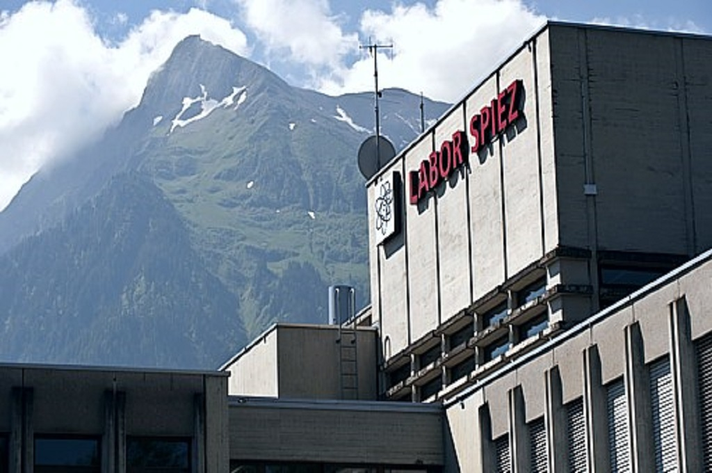 Laboratorium Labor Spiez milik Swiss. (Foto: Labor Spiez)