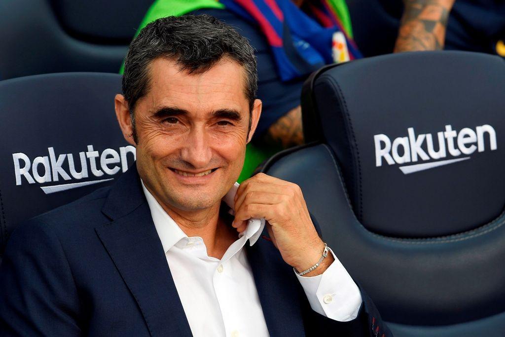 Ernesto Valverde (AFP/Lluis Gene)
