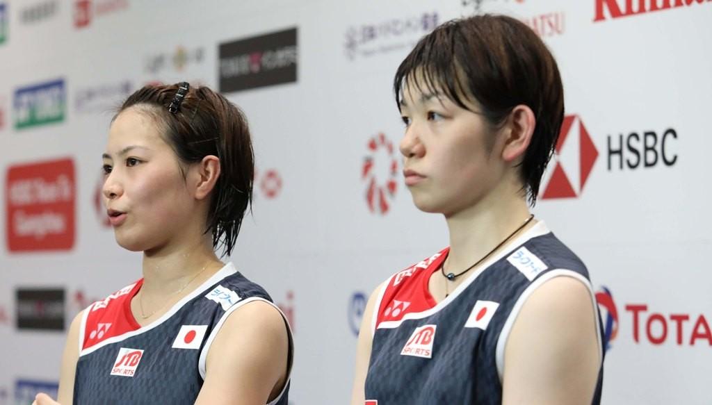 Yuki Fukushima/Sayaka Hirota. (Foto: PBSI)