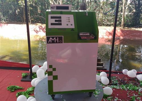 Tampilan mesin AMH-o. Medcom.id/ Ilham Wibowo