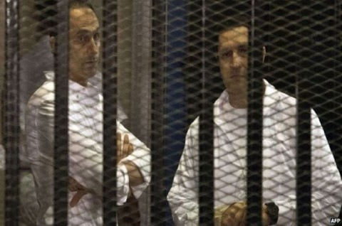Mesir Tangkap Dua Anak Mantan Presiden atas Penggelapan Saham