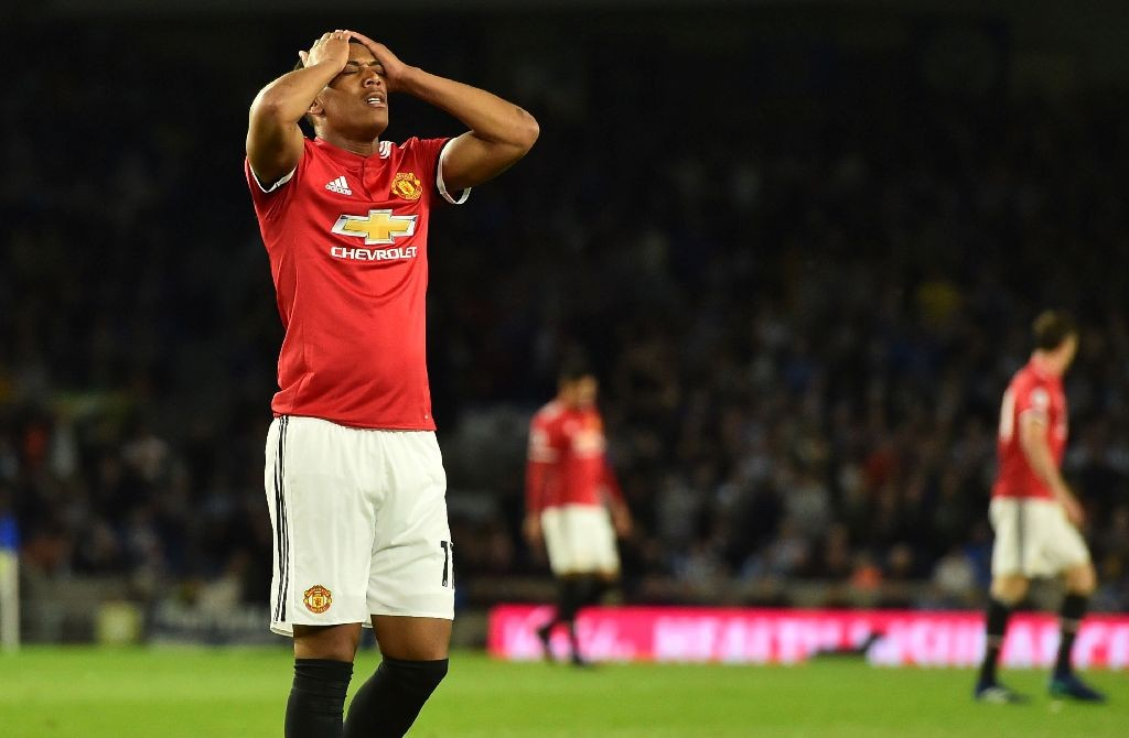 Anthony Martial (AFP PHOTO / Glyn KIRK)