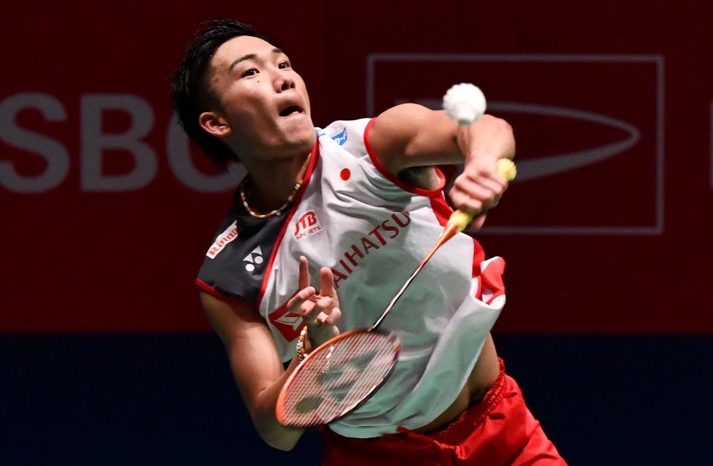 Kento Momota (JIJI PRESS / AFP)