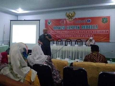 Ancaman KLB Rubella di Sumatera Utara