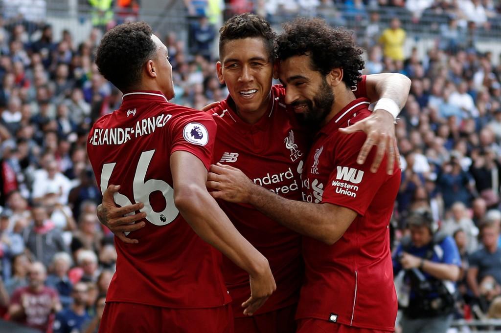 Liverpool Kalahkan Tottenham Hotspur 2-1