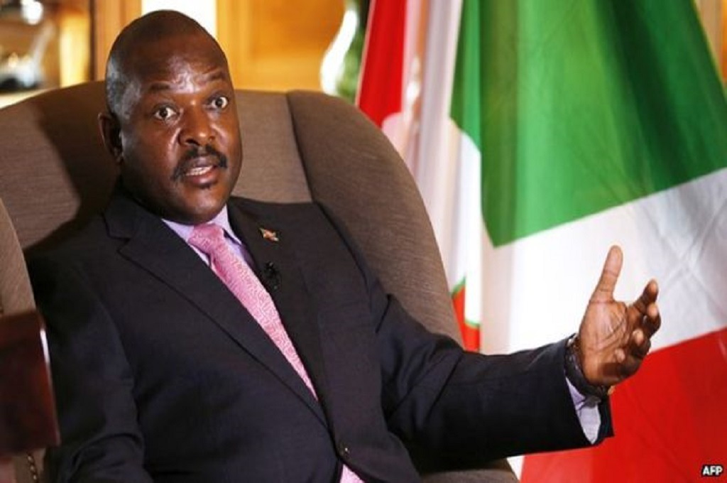 Presiden Burundi Pierre Nkurunziza. (Foto: AFP)