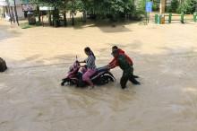 Ribuan Rumah Warga di Medan Terendam Banjir