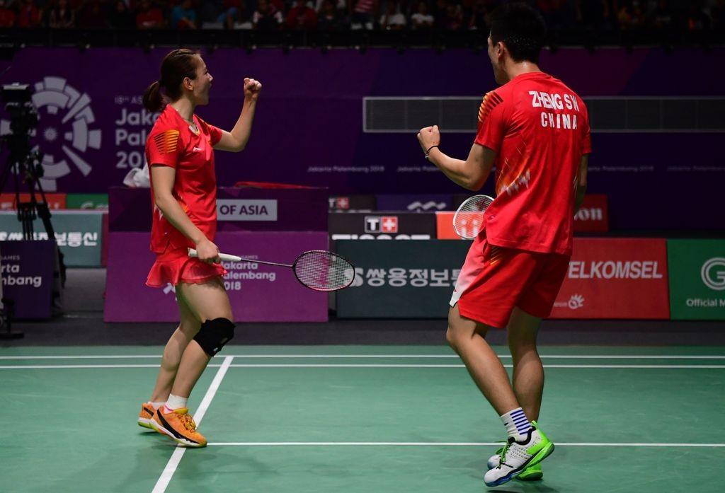 Zheng Siwei/Huang Yaqiong (SONNY TUMBELAKA / AFP)