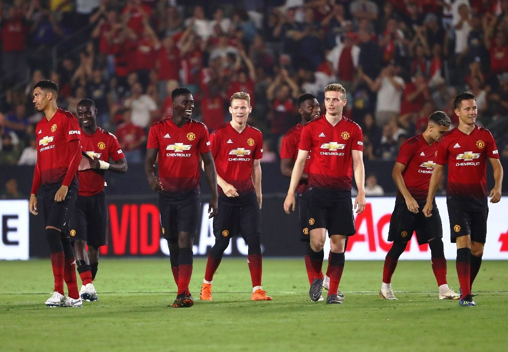 Skuat Manchester United. (Foto: Victor Decolongon/Getty Images/AFP)