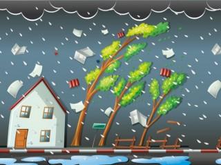 Angin Kencang Rusak 27 Rumah di Pidie