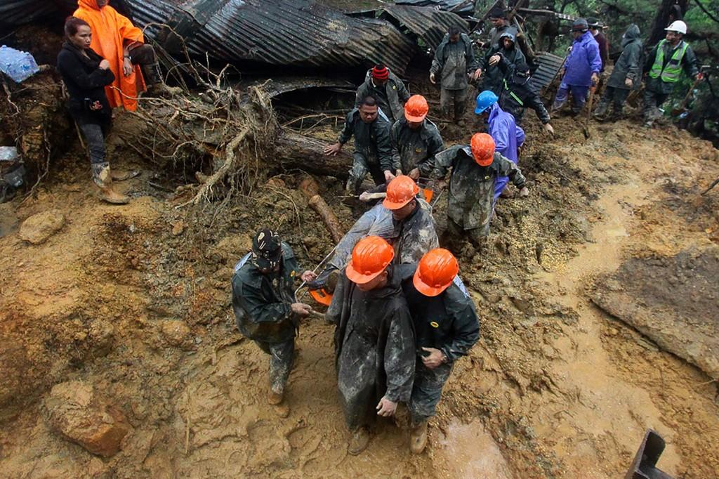 Korban Jiwa Topan Mangkhut di Filipina Jadi 59 Orang