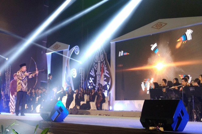 Mendikbud Muhadjir Effendy membuka gelaran Olimpiade Olahraga Siswa Nasional di Yogyakarta, Senin, 17 September 2018, Medcom.id - Mustaqim