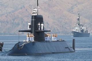 Jepang Gelar Latihan Kapal Selam di Laut China Selatan