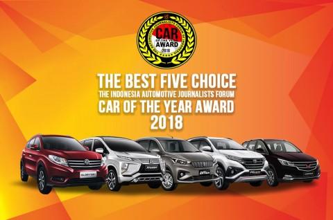 Lima Mobil ini jadi Nominator Mobil Terbaik Forwot 2018