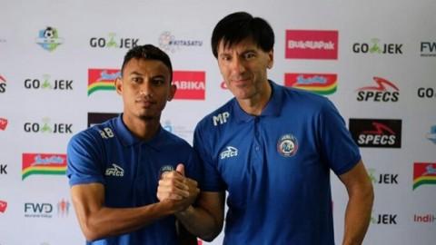 Arema Janjikan Permainan Agresif Lawan Madura United