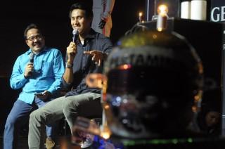 Sean dan Pembalap F1 Galang Dana untuk Korban Bencana Lombok