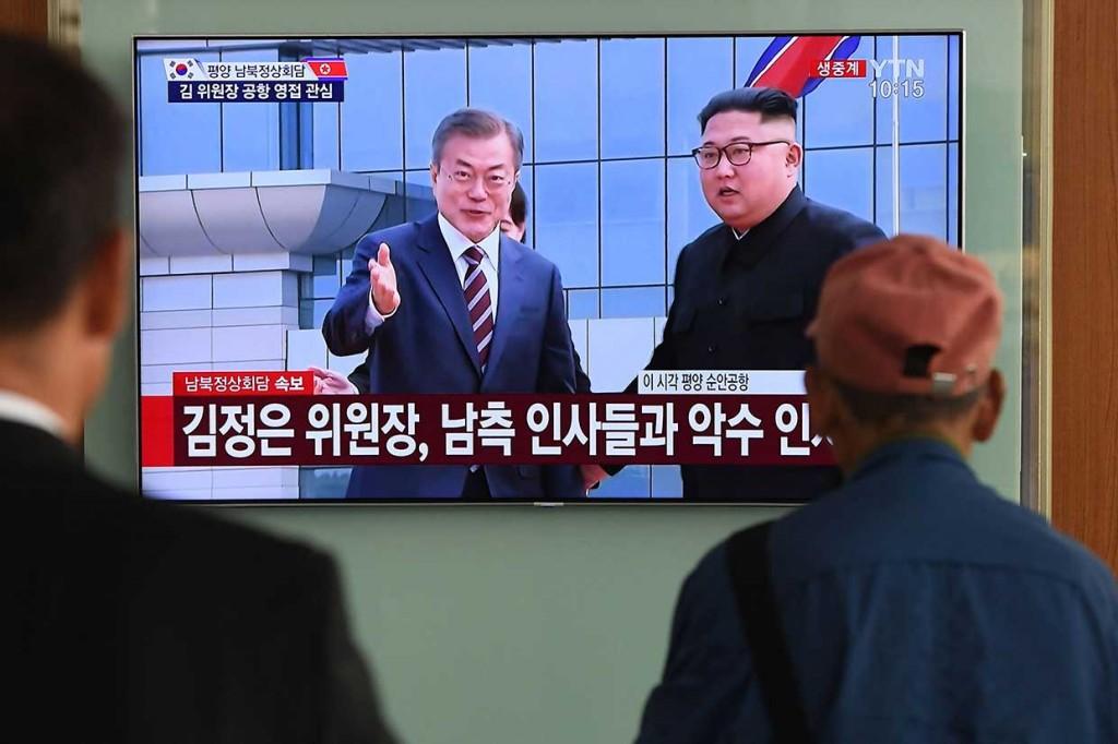 Kim Jong Un Sambut Hangat Presiden Korsel di Pyongyang