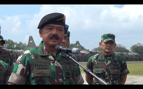 Panglima: Soliditas Polri-TNI Jadi Kunci Pemilu Aman