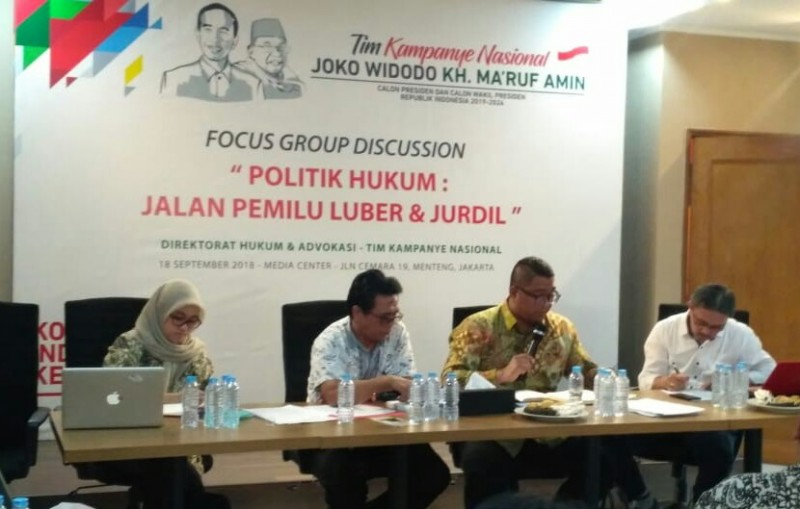 Focus Group Discussion (FGD) di Posko Cemara - Medcom.id/Arga Sumantri.