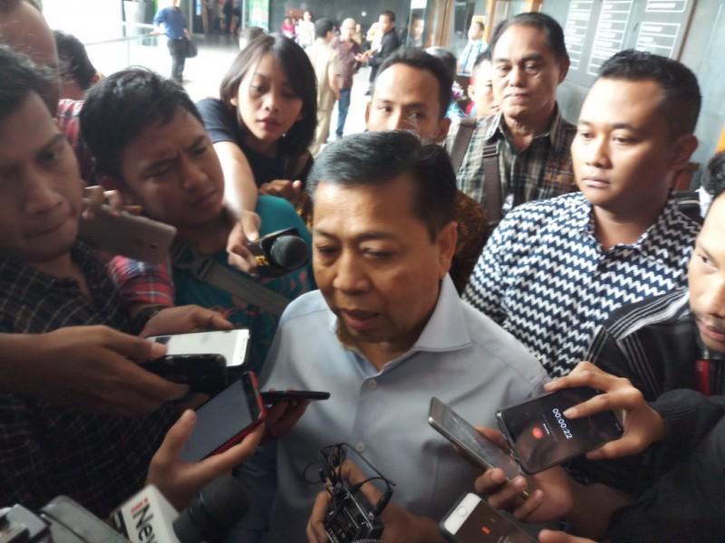 Terpidana kasus korupsi KTP-el Setya Novanto datang ke Pengadilan Tipikor, Jakarta, untuk menjadi saksi. Foto: Medcom.id/M Sholahadhin Azhar.