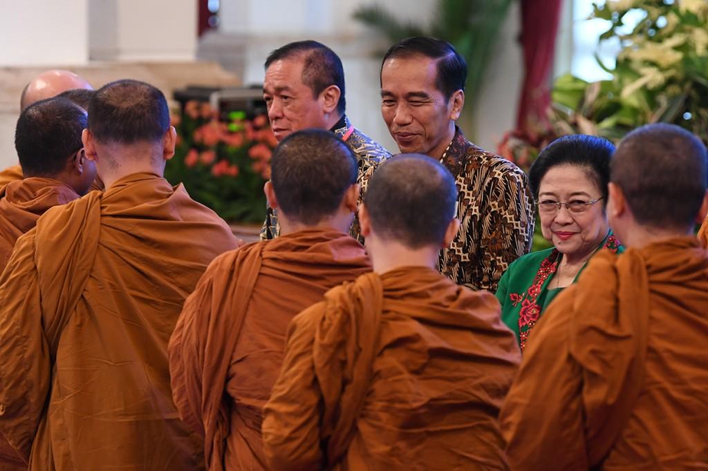 Jokowi Buka Munas Pertama Permabudhi 2018