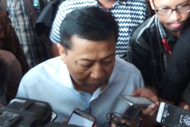 Mantan Ketua DPR RI Setya Novanto--MI/M Sholahadhin Azhar.