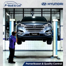 Hyundai Buka Fasilitas Perbaikan Bodi dan Cat di Simprug