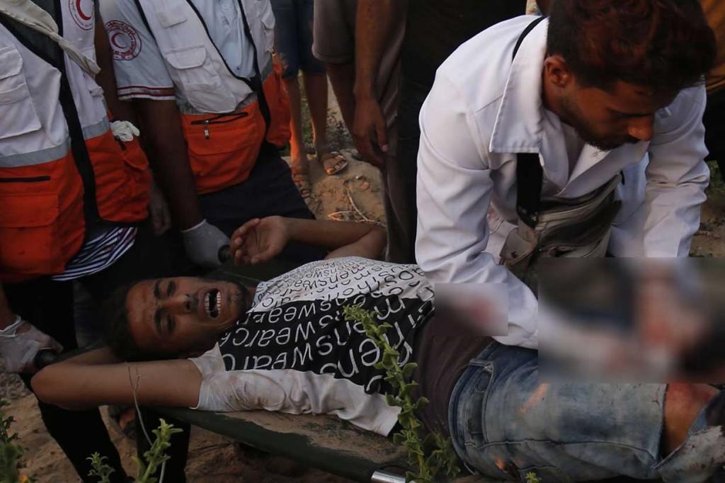 Bentrok dengan Tentara Israel, Puluhan Warga Palestina Cedera