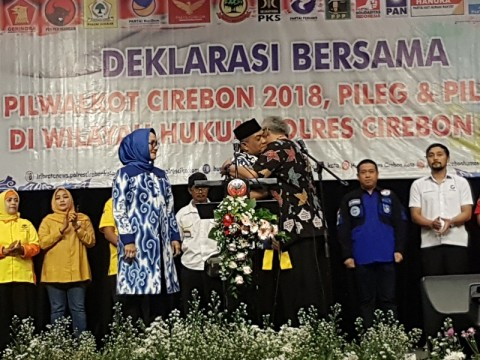 NasDem Yakin Calonnya Menang di PSU Pilwalkot Cirebon
